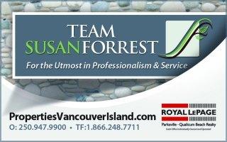 Susan Forrest - Realtor Royal LePage Parksville-Qualicum Beach Realty