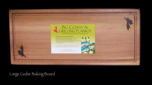 B.C. Coastal Grilling Planks