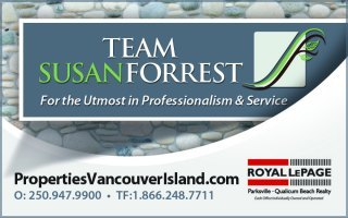 Susan Forrest - Realtor Royal LePage Parksville-Qualicum Beach Realty