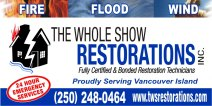 The Whole Show Restorations Inc.